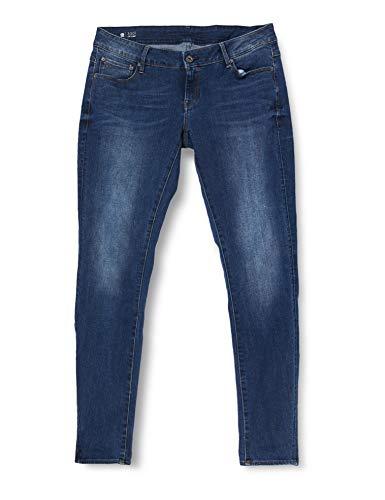 G-STAR RAW Womens 3301 Low Waist Skinny Jeans, medium Aged, 31W / 30L