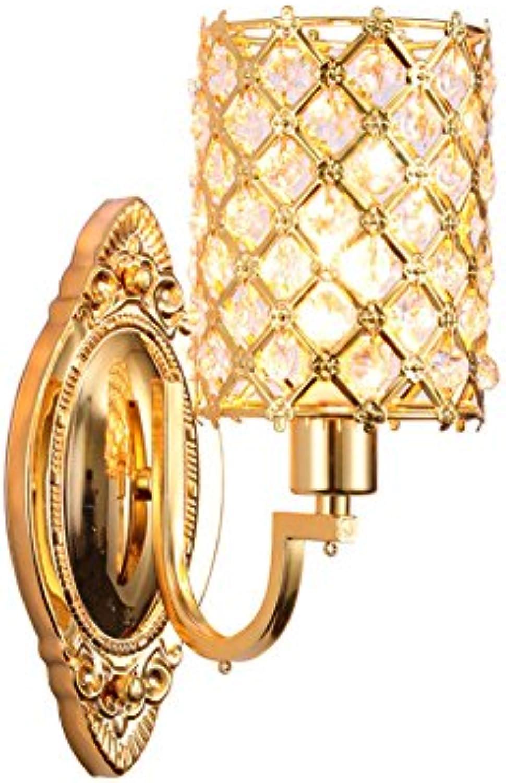 Wandleuchten Crystal Wandleuchte Metall Wandleuchte Kreative Wandleuchten Crystal Ball Loft Wand Korridor Licht 110v-220v E14 Dekorative Wandleuchte (Wattage   220v)