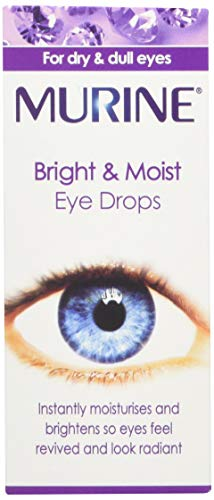 Murine Bright & Moist Eye Drops to Brighten and Whiten Eyes as well as...