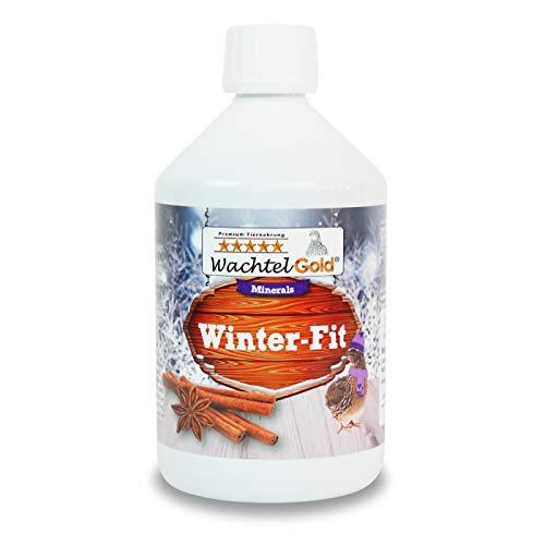 WachtelGold Winter-Fit 500ml-flüssige Nahrungsergänzung für Wachteln, Hühner und Ziergeflügel