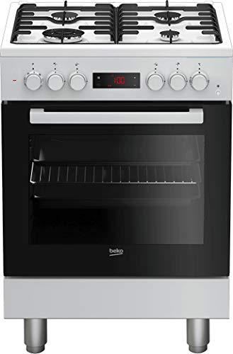 Cucina a gas con forno elettrico ventilato, 60x60 cm