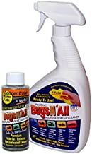 Bugs N All - Best All Purpose Interior & Exterior Vehicle Cleaner & Bug Remover. 4oz. Concentrate Makes 2 Quarts. Includes: EMPTY 1 Qt. Spray Bottle - Works Well Over Wax, Clear Coat, Paint & Decals.