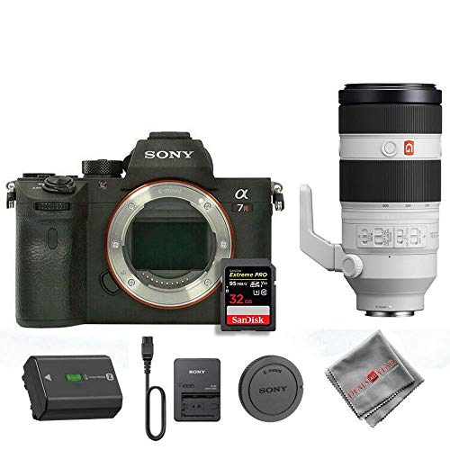 Best Price Sony A7R IV with Sony 100-400 GM Lens and 32GB SD Card (International Model)