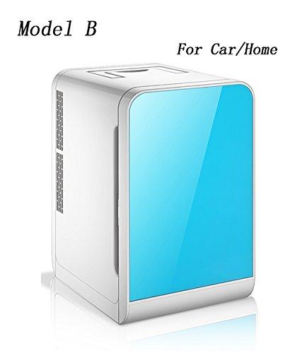 LIANJUN Ménage Glacière Réfrigérateur Electrique Coolbox Réfrigérateur Mini Voiture - 3 Couleurs Disponibles Portable (Couleur : Bleu, Taille : A)
