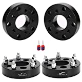 FLYCLE 1.5 inch Wheel Adapters Spacers 5x4.5 to 5x5.5 with 1/2x20 Studs Compatible with Explorer Wrangler Cherokee Libetry Ranger Edge Taurus
