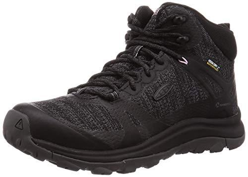 KEEN Women's Terradora 2 Waterproof Mid Height Hiking Boot, Black/Magnet, 7