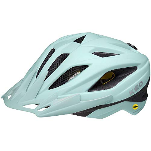 KED Street Jr. MIPS M Arcardia - Casco de bicicleta (53-58 cm, incluye cinta de seguridad RennMaxe, para bicicleta de montaña, BMX y adultos)