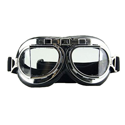 FUT Cosplay Costume Eyewear Goggles Aviator Pilot Style Cruiser Scooter Goggle