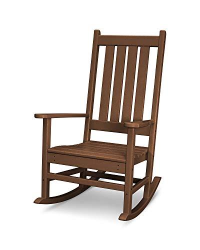 POLYWOOD Vineyard Porch Rocking Chair (Teak)