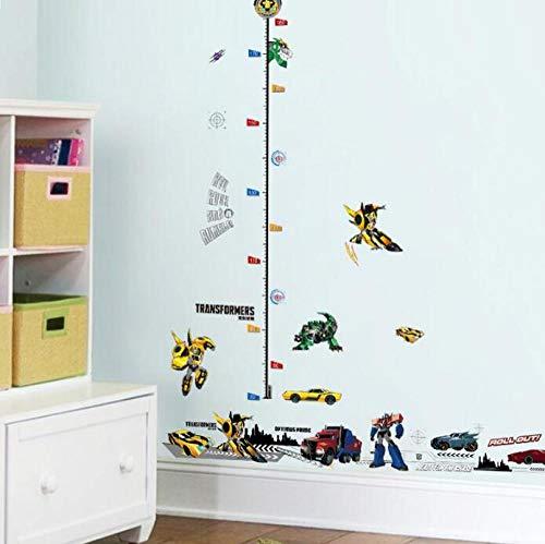 Decoren Meisjesmuur Stickers Transformers Kleuterschool Muurstickers Kinderkamer Decoratie Hoogte Voeten