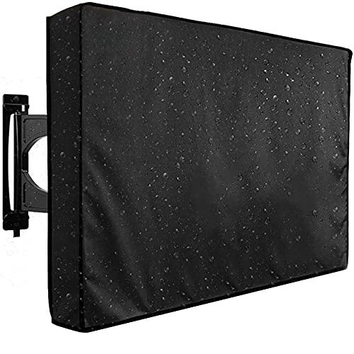 Cubierta de TV para Exteriores, Universal Resistente Intemperie 600D Protector de TV para Exteriores para LCD, LED, Televisión Compatible con Soportes de Montaje Estándar (30'-32')