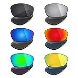 MRY 6pares polarizadas lentes de repuesto para Oakley Straight Jacket 2007gafas de sol