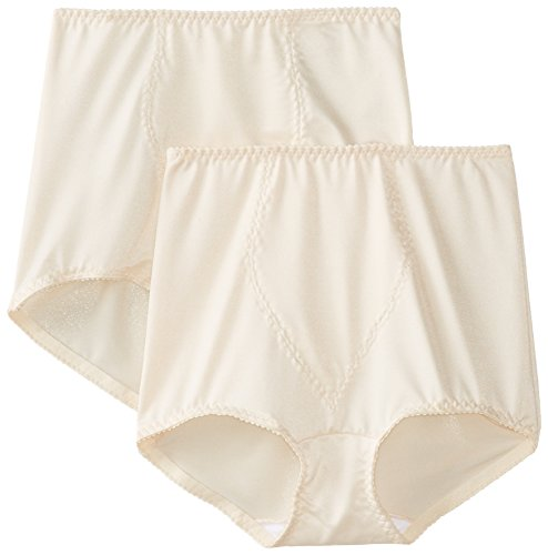Bali Women's Light Control Tummy Panel Shapewear Brief Fajas 2-Pack DFX70J