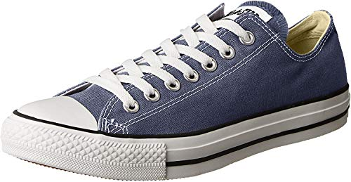 Converse All Star Chuck Taylor Lo Top - Zapatillas, color azul marino,...