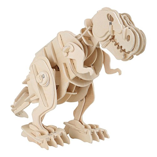 Legler - 6946 - Kit en bois - Dino-robot - T-Rex - 85 pièces