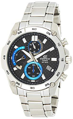 Casio Reloj Analogico para Hombre de Cuarzo con Correa en Acero Inoxidable EFR-557CD-1AVUEF