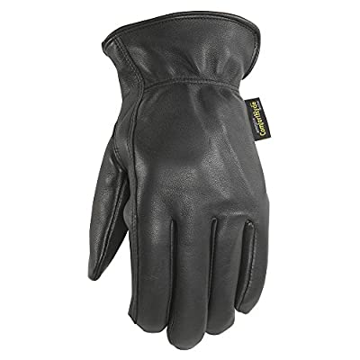 Men's Brown Insulated Driver Gloves, Super Soft Leather