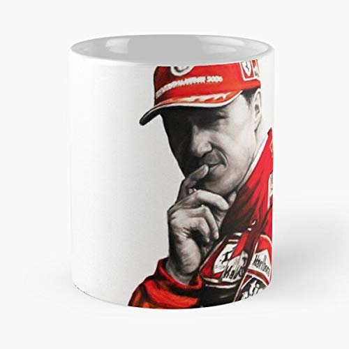 5TheWay Mug Schumacher Michael Standardkaffee 11 Unzen Geschenk Tassen für alle
