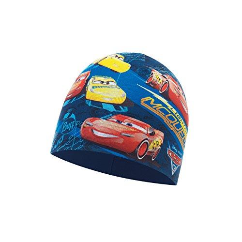 Buff Kinder Microfiber und Polar Mütze, Top Cars Blue - Harbor, One Size