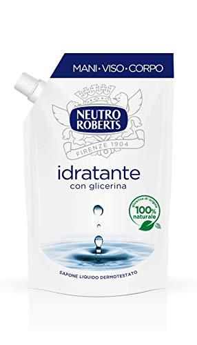 Neutro Roberts Sapone Liquido Ecopouch Idratante Con Gliceri