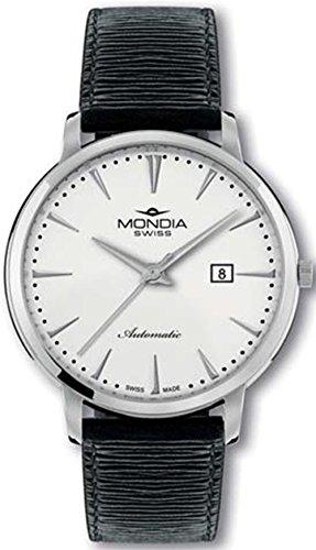 Monida swiss elegance orologio Uomo Analogico Automatico con cinturino in Pelle di vitello MS208-3SL-CP