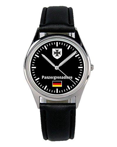 Soldat Geschenk Bundeswehr Artikel Panzergrenadiere Uhr B-1074