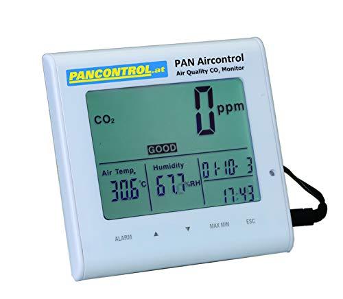 PAN Aircontrol Digital-Luftgüte-Messgerät CO2 Messgerät Warnmelder