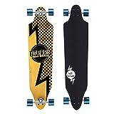 Osprey - Bolt, Skateboard twin tip fade, colore: Nero/Giallo...