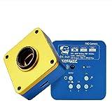 ZGQA-GQA Mecanálisis MC67T-B6 Microscopio 10x22mm Eyacos de Gran Angular de Gran definición Objetivo óptico de Alta definición 3.35x-270X Multiplicador Continuo (Color : DX 340)