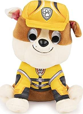 "GUND PAW Patrol: The Movie Rubble Stuffed Animal Plush Dog, 6"" by Spin Master"