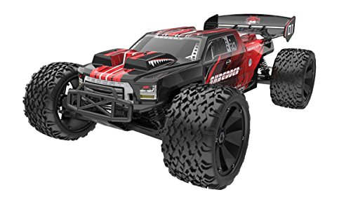 Redcat Racing Shredder XTE Electric Truck, 1 6 Scale, Red