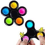 Kavkabox Pop Fidget Spinners 2 Pack, Fidget...