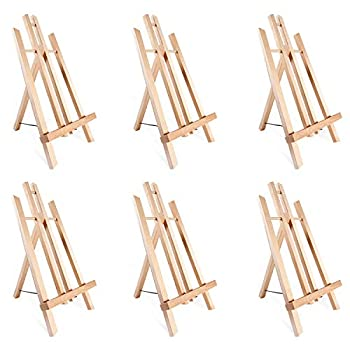 Tabletop Art Easel Set Ohuhu 14  Tall Display Stand A-Frame Mini Wood Painting Easels for Kids Artist Adults Students Classroom Table top Display 2-Pack Back to School Art Supplies