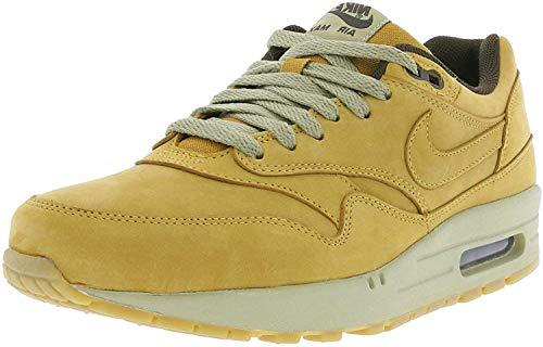 Nike Herren Air Max 1 LTR Premium Laufschuhe, Amarillo/Blanco (Bronze/Bronze-Baroque Brown), 40 EU