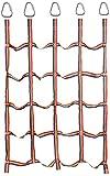 DGL Kletternetz dauerhaft Strickleiter Spielgeräte Sportpraxis Fitness-Balancetraining im Freien for Kinder 145X185CM