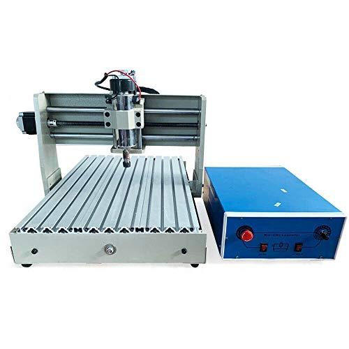 CNC 3040T - Set di fresa/incisione USB Graveur, 4 assi 3D Engraving Machine Kit,incisione PCB 3D per industria, design pubblicitario, lavorazione artistica