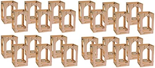 Kinder Holzlaterne zum Basteln von Avantgarde 24er Set  Kindergarten Qualität