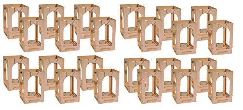 Kinder Holzlaterne zum Basteln von Avantgarde 24er Set