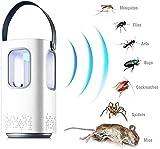 Leilims Intelligent de Moustique à ultrasons Répulsif Anti Parasite Flying Rats Cafards araignées Les Fourmis Volantes Cafards