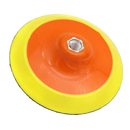Baoblaze Almohadilla de Respaldo Giratoria M14 / M10 Disco de Almohadilla de Respaldo de Pulido para Lijado Y Pulido de Velocidad - F- 6in M14