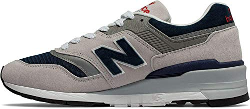 New Balance 997 Made in The USA Zapatillas en Gris Piedra y Azul Marino