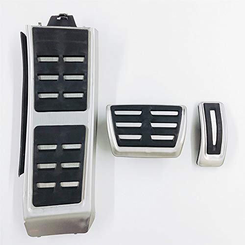 ZHXWLL Brake Footrest Pedal Cover Auto Accessories Car Pedals, For Audi A4 B8 A6 A7 A8 S4 Rs4 A5 S5 Rs5 8t Q5 Sq5 8r AT3pcs