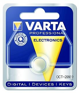 Varta V394Knopfzelle, Silberoxid, für Armbanduhren, 67mAh