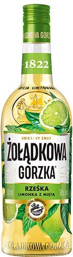 NEUHEIT !!! Zoladkowa Gorzka Limette Minze 0,5 L/Rzeska Limonka Mieta