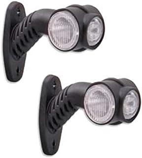 2x 24V LED Positionsleuchten Begrenzungsleuchten LKW Seitenmarkierungsleuchten Anhänger Hochwertig Neu Gelb Rot Weiß