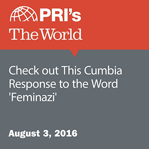Check out This Cumbia Response to the Word 'Feminazi' audiobook cover art