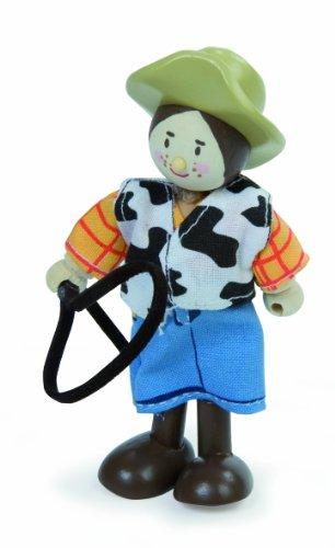 Le Toy Van - 21950 - Figurine - La Femme Cow Boy
