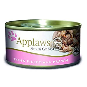 Applaws Cat Tin NVS Tuna & Prawn 24 x 156
