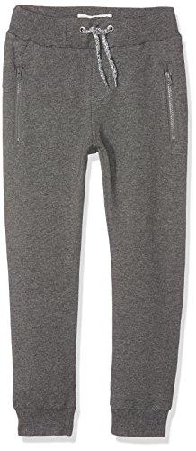 NAME IT Nkmhonk BRU Swe Pant Noos Pantalones, Gris (Dark Grey Melange), 110 para Niños