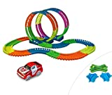Mediashop Fantastic Tracks Super Loop Set | inklusive Spurwechsler + Kreuzung | Autobahn Kinder | Autorennbahn | Magic Tracks | Looping | Rennbahn | Das Original aus dem TV